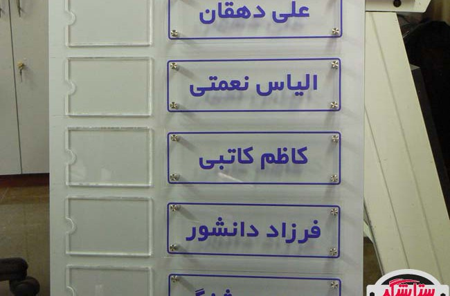 تابلو راهنمای طرح تکریم ارباب رجوع – شهرداری منطقه ۶ شیراز